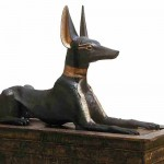 Anubis was the Guardian of Tut's Treasury